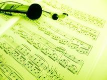 Aufnahmemusik lizenzfreie stockbilder