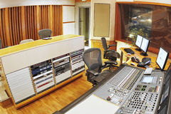 Aufnahmestudio Stockfotografie