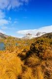 Aufnahmevorrichtungs-Berg, Tasmanien Stockbild