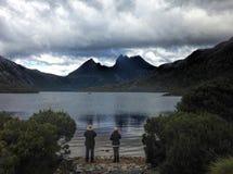 Aufnahmevorrichtungs-Berg Tasmanien Lizenzfreie Stockbilder