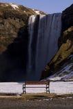 Aufpassen der Wasserfälle Lizenzfreies Stockbild
