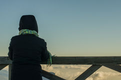 Aufpassen des Wolkenmeers Lizenzfreies Stockfoto