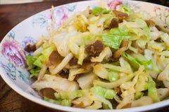 Aufruhr Fried Cabbage Stockfoto