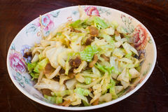 Aufruhr Fried Cabbage Stockbilder
