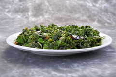 Aufruhr Fried Water Spinach, Lebensmittel-Vietnamese Stockbilder