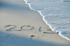 Aufschrift 2014 Lizenzfreies Stockbild