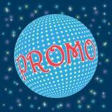 Aufschrift Promo auf klarem Hintergrund Lizenzfreie Stockfotos