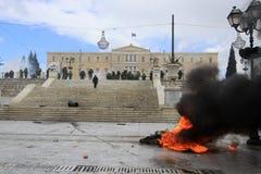 Aufstände stockfotografie