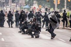 Aufstände nähern sich G20, am 26. Juni 2010 - Toronto, Kanada Lizenzfreies Stockbild