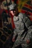 Aufstand-Patrouille Lizenzfreies Stockfoto