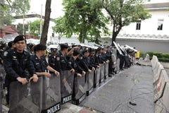 Aufstand-Polizei Lizenzfreie Stockfotos