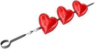 Aufsteckspindel der Liebe Stockfotos