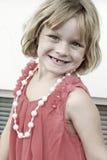 Aufstellung des kleinen Mädchens stockfotos