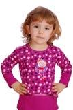 Aufstellung des kleinen Mädchens der Schönheit Lizenzfreie Stockbilder