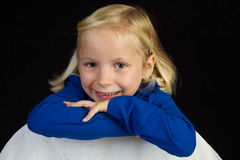 Aufstellung des Mädchens Stockfotos
