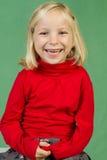 Aufstellung des Mädchens Lizenzfreie Stockfotografie