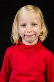 Aufstellung des Mädchens Lizenzfreies Stockfoto