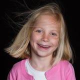 Aufstellung des Mädchens Lizenzfreie Stockbilder