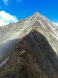 Aufstieg in den Stubai-Alpen Lizenzfreies Stockfoto