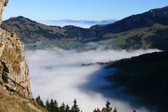 Aufstieg Eben Alpe 2 Stockfotos
