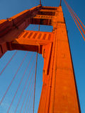 Aufstieg Golden Gate Stockfotos