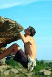 Aufstieg zum Berg Lizenzfreie Stockfotos