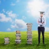 Aufstieg zum Grad und zum Job stockfotografie