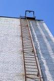 Aufstieg zur Spitze des Gebäudes Stockfotos