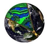 Auftauchende Weltelektronik-Unterstützung stockbilder