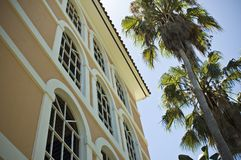Auftrag-Gebäude stockbild