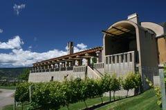 Auftrag-Hügel-Weinkellerei Stockbild