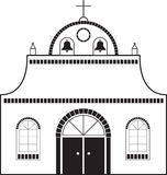 Auftrag-Kirche lizenzfreie abbildung
