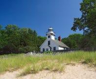 Auftrag-Punkt-Leuchtturm Stockfoto