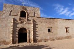 Auftrag San Francisco de Borja, Baja California, Mexiko lizenzfreie stockbilder