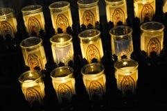 Auftrag San Luis Rey Votive Candles Lizenzfreie Stockfotografie