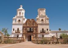 Auftrag San Xavier Del Bac, Tucson Arizona Stockbilder