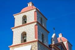 Auftrag Santa Barbara Bell Tower Stockfotografie