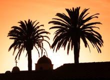 Auftrag-Sonnenuntergang Stockbilder