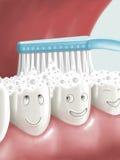 Auftragende Zähne Vektor Abbildung