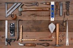 Auftragnehmer-Werkzeuge Stockbild