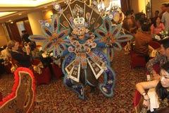 Auftritt-Solo- Batik-Karneval Stockbilder