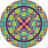 Aufwändig-Mandala Lizenzfreies Stockfoto