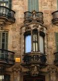 Aufwändige Balkone Lizenzfreie Stockbilder