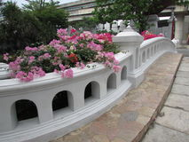 Aufwändige Brücke Mini Siam Pattaya Thailand Lizenzfreie Stockfotos