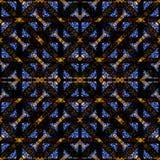 Aufwändige Kontrollnahtloses Muster Stockbilder