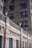 Aufwändige Wohnungen Stockfoto