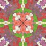 Aufwändiger Hauptdekor der abstrakten Geometrie Lizenzfreie Stockfotos