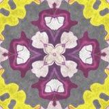 Aufwändiger Hauptdekor der abstrakten Geometrie Lizenzfreie Stockbilder