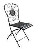 Aufwändiger Patio-Stuhl Lizenzfreies Stockbild