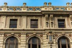 Aufwändiges Gebäude-Detail in Dallas Lizenzfreies Stockfoto